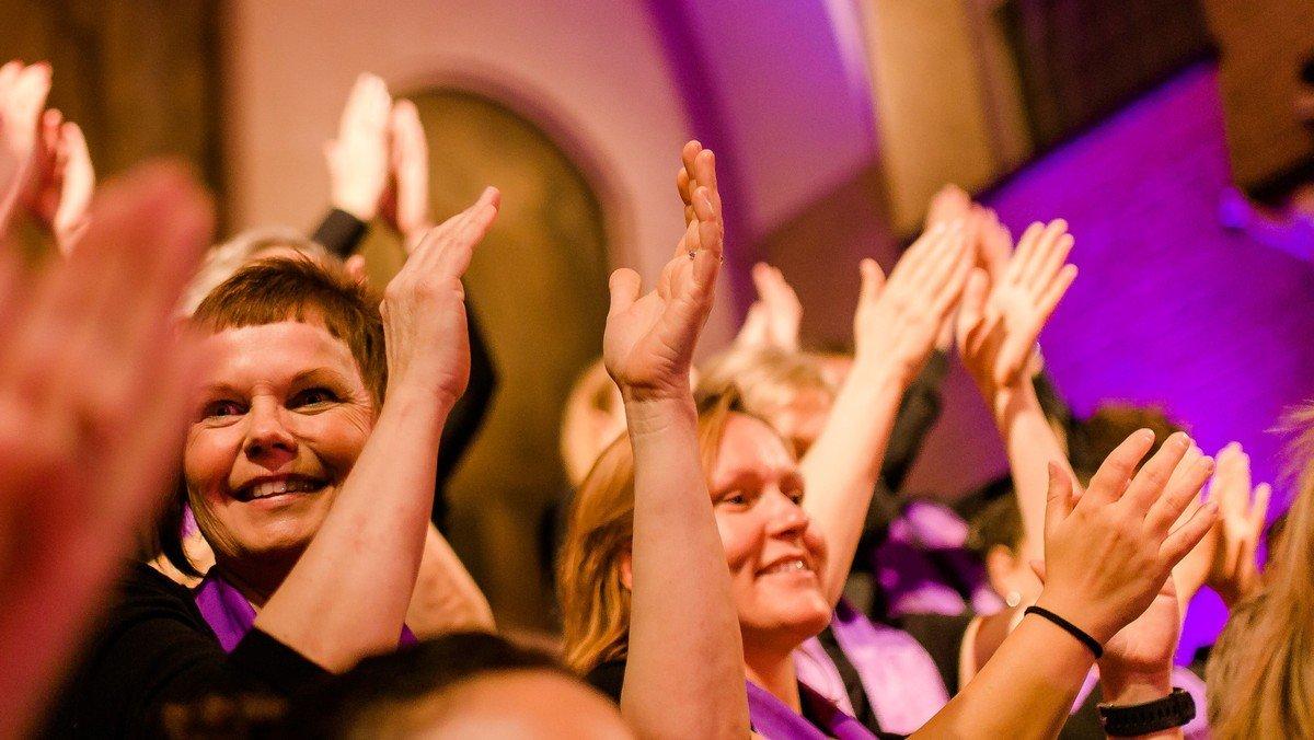 Kulturnat: Koncert med  Vesterbro Gospelkor i Eliaskirken