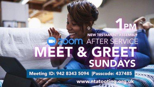 After Church Meet & Greet Sundays