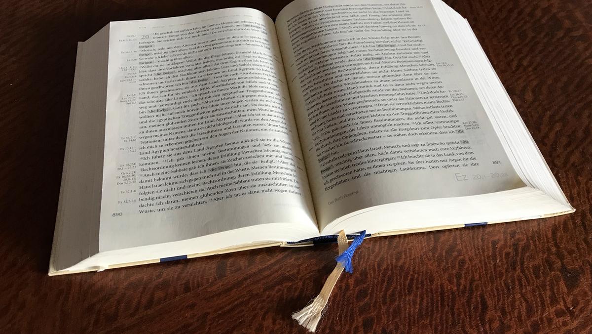 Bibelkreis: Das Buch Ester - als Zoom-Meeting