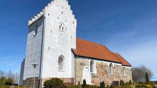 Gudstjeneste i Sdr. Tranders kirke v/Line Vesterlund