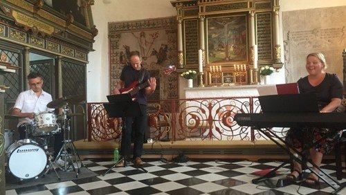 Popmusikalsk gudstjeneste i Visborg kirke