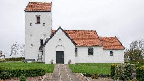 Gudstjeneste i Hyllebjerg Kirke