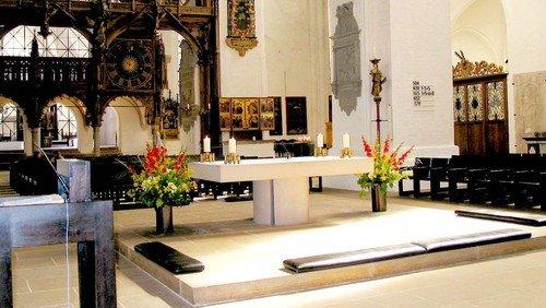 Abendmahlsgottesdienst am Toten- und Ewigkeitssonntag mit Pastor Martin Klatt - zeitgleich Kindergottesdienst