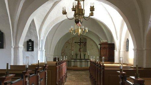 Gudstjeneste i Torup kirke ved Kristian Hein- Fastelavn - Matt. 3, 13-17