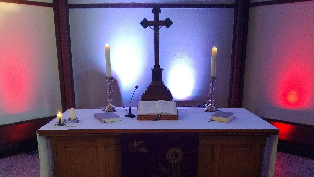 Traditioneller Gottesdienst mit Anmeldung und Livestream