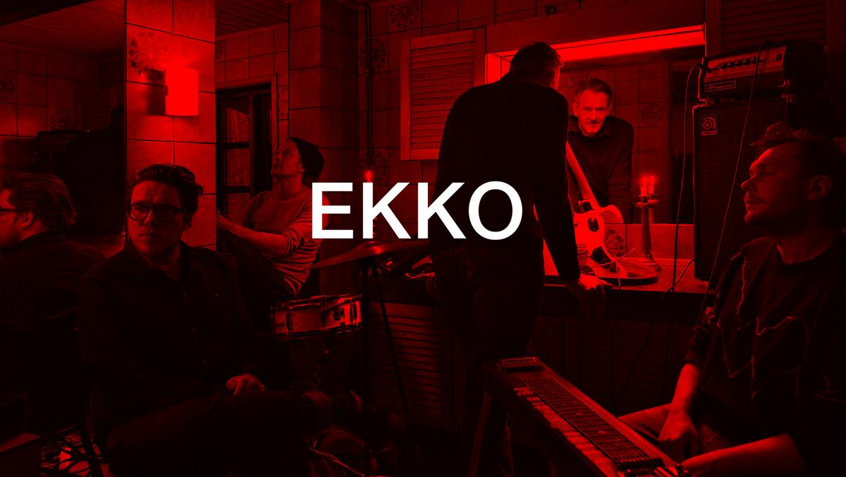 KONCERTEN ER DESVÆRRE AFLYST Koncert med  det elektroniske band EKKO