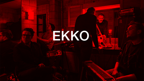 Koncert med  det elektroniske band EKKO