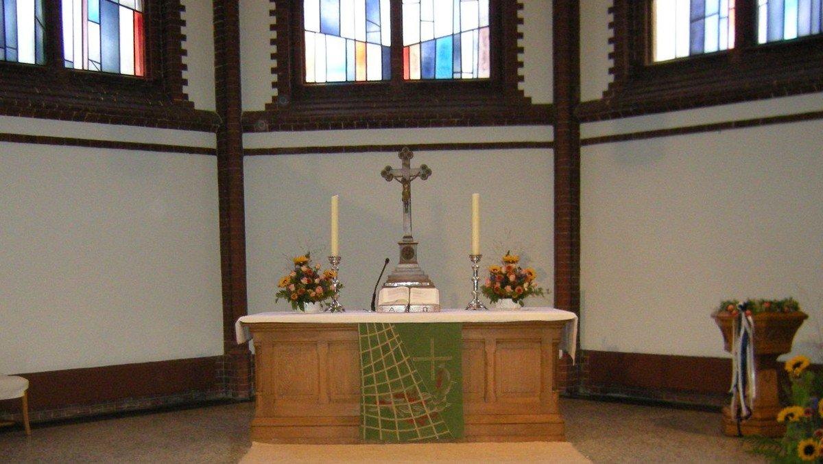 Traditioneller Gottesdienst mit Anmeldung