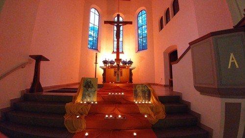 Taizé Gottesdienst in Sankt Martin
