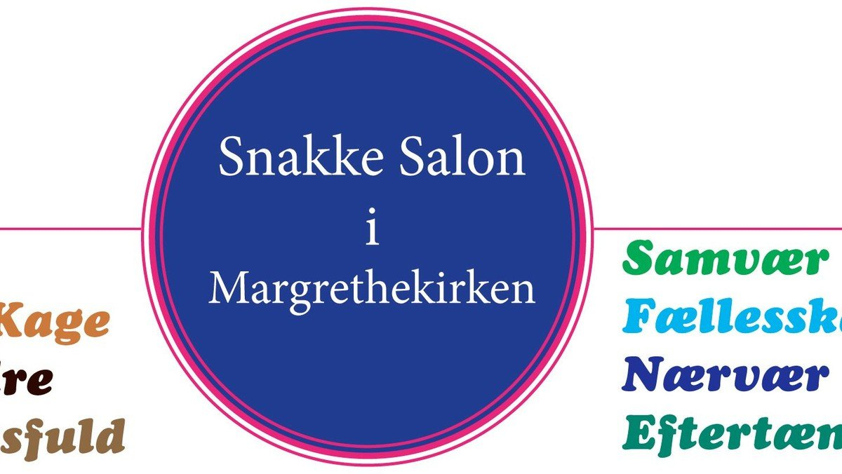 Aflyst - Snakke Salon i Margrethekirken