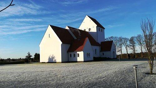 Gudstjeneste i Hampen kirke