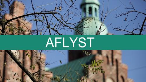 AFLYST Fredagsmøde