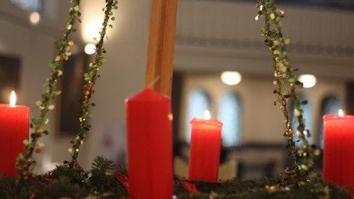 3. Advent, Gottesdienst mit Taufe und festlicher Musik