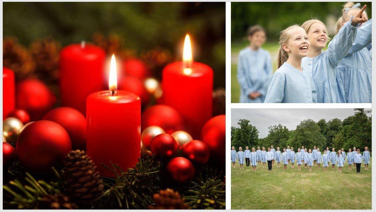 Juniorkoret synger julen ind
