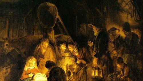 Rembrandt - Anbetung der Hirten