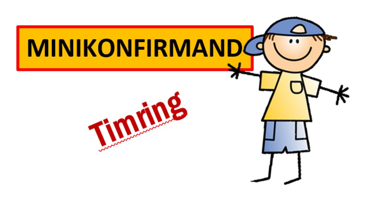 Timring Minikonfirmand