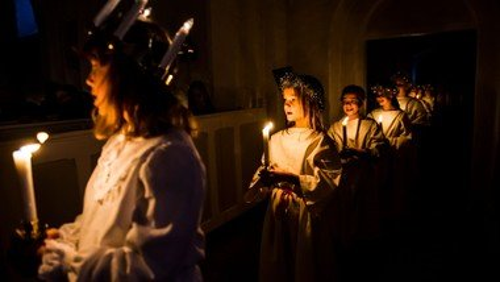 Lucia og julesang