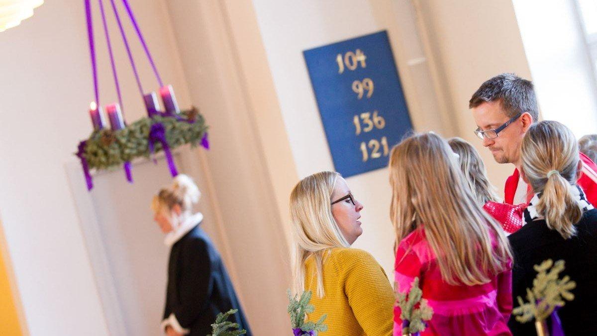 AFLYST Børnevenlig julegudstjeneste v/ Helene Ferslev og Sandra Fallesen