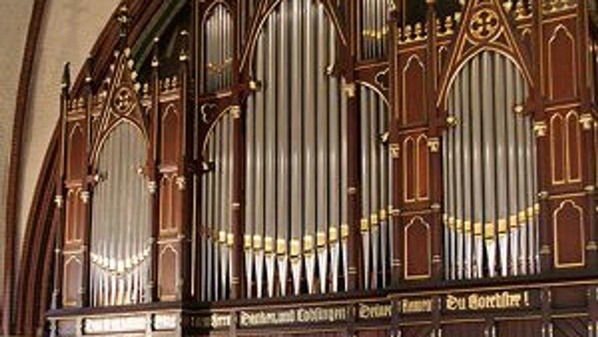 """Kurzkonzert im Rahmen der """"Orgeltour entlang der U7"""""""