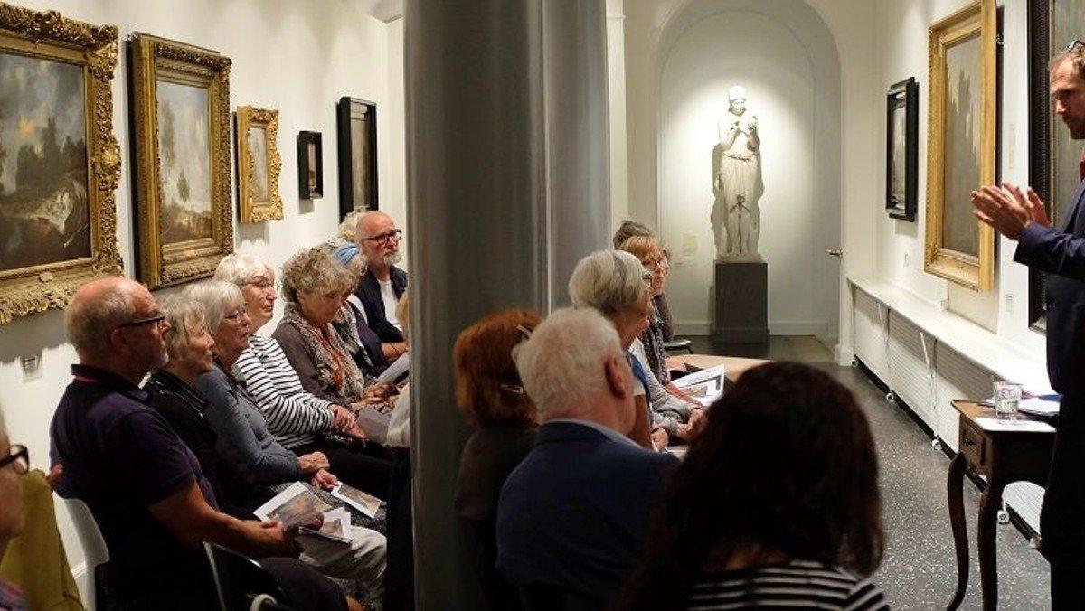 Præstetanker på Nivågaards malerisamling m. provst Hans-Henrik Nissen