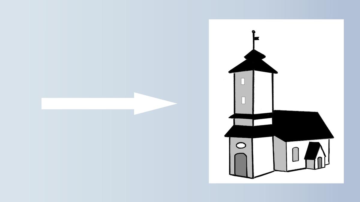 Kein Gottesdienst in der Waldkirche