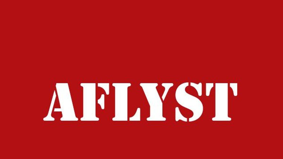 Sangeftermiddag AFLYST