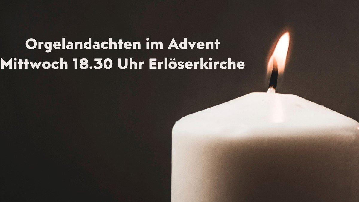 Orgelandacht im Advent