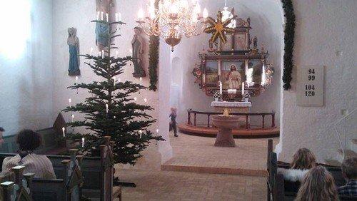 Juleaftensgudstjeneste Billum