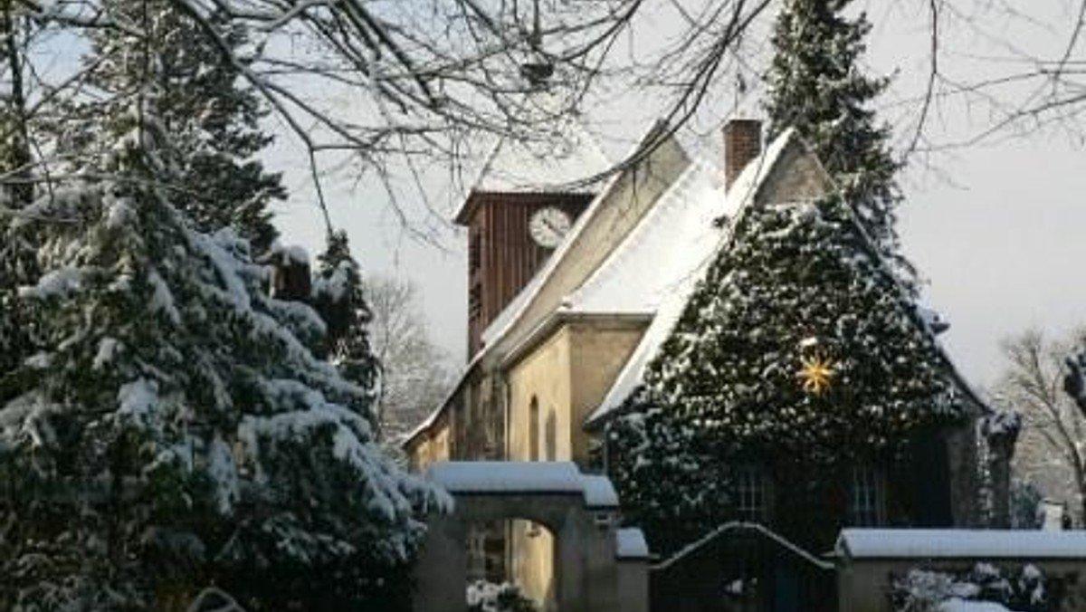 Gottesdienst zum Weihnachtsfest in Gatow (Anmeldung nötig)