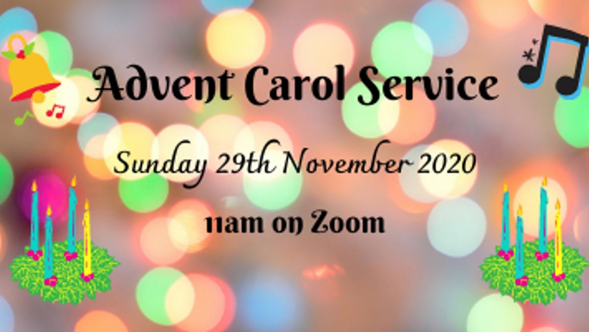 Advent Carol Service on Zoom