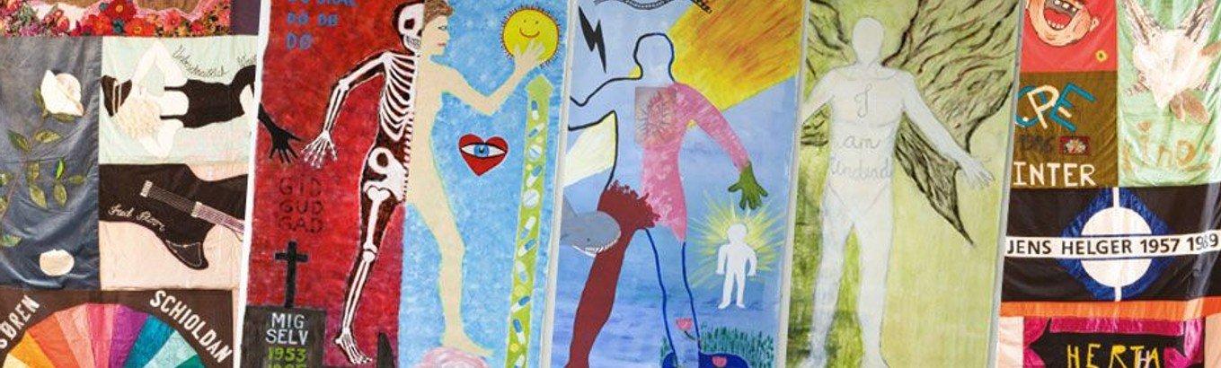 Udstilling: World AIDS Day • Navnetæpper og Bodymaps