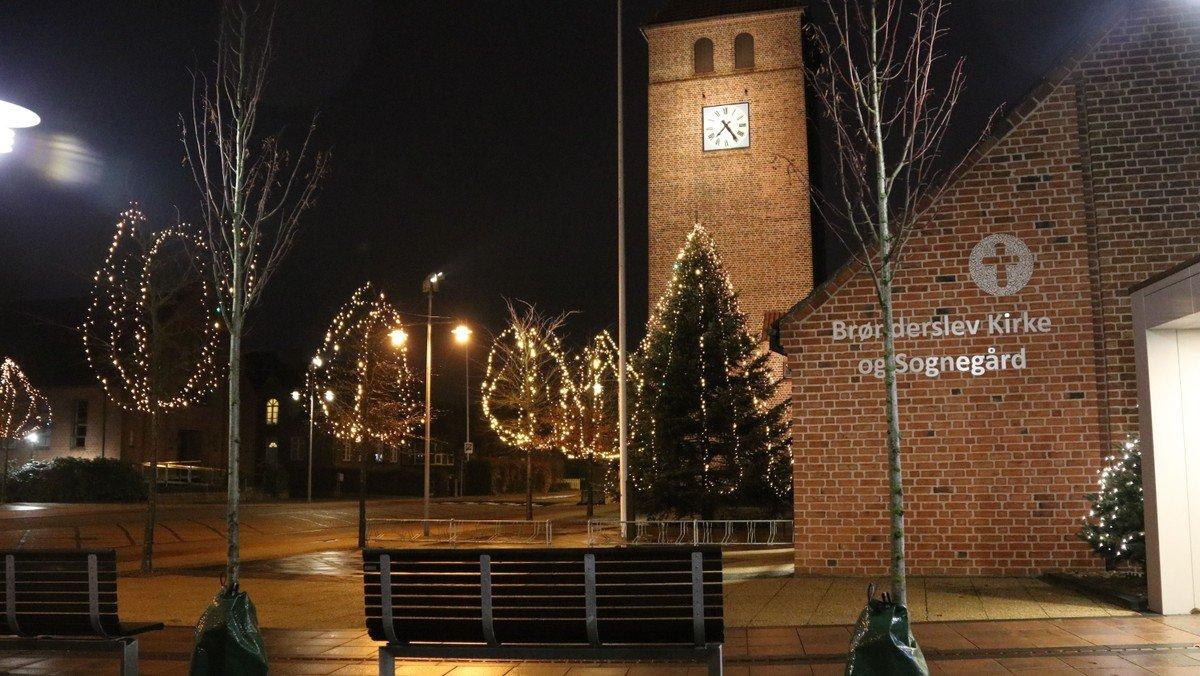 Juleaftensgudstjeneste i Brønderslev kirke