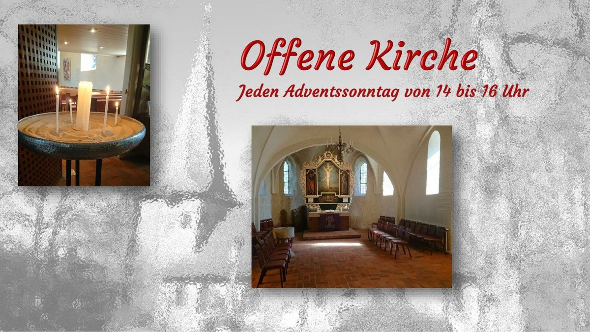 Herzlich willkommen in der Alt-Rahlstedter Kirche
