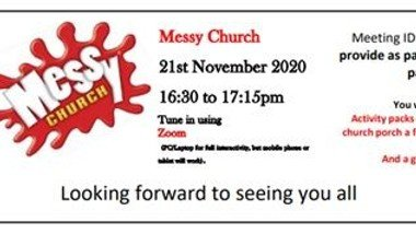 Messy Church Session via Zoom