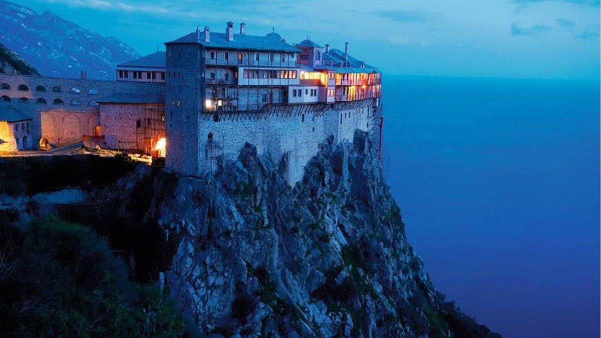 Tirsdagshøjskole Athos - den græske munkeø