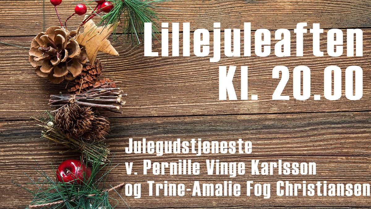 Julegudstjeneste v. Pernille Vinge Karlsson og Trine Amalie Fog Christiansen