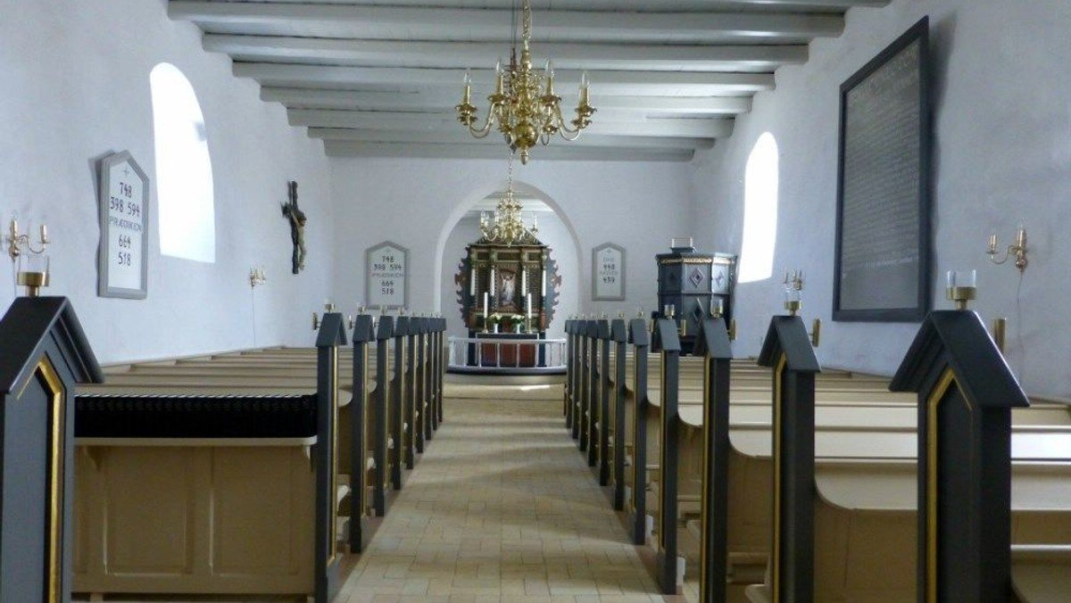 Sanggudstjeneste i Louns Kirke