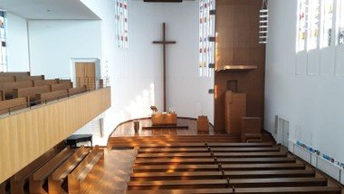 Die Kirche ist offen