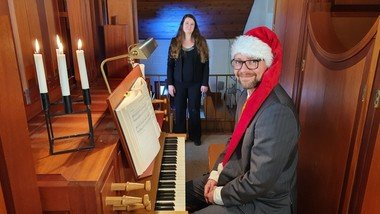 Christmas Couch Concert - with Danish and English christmas music