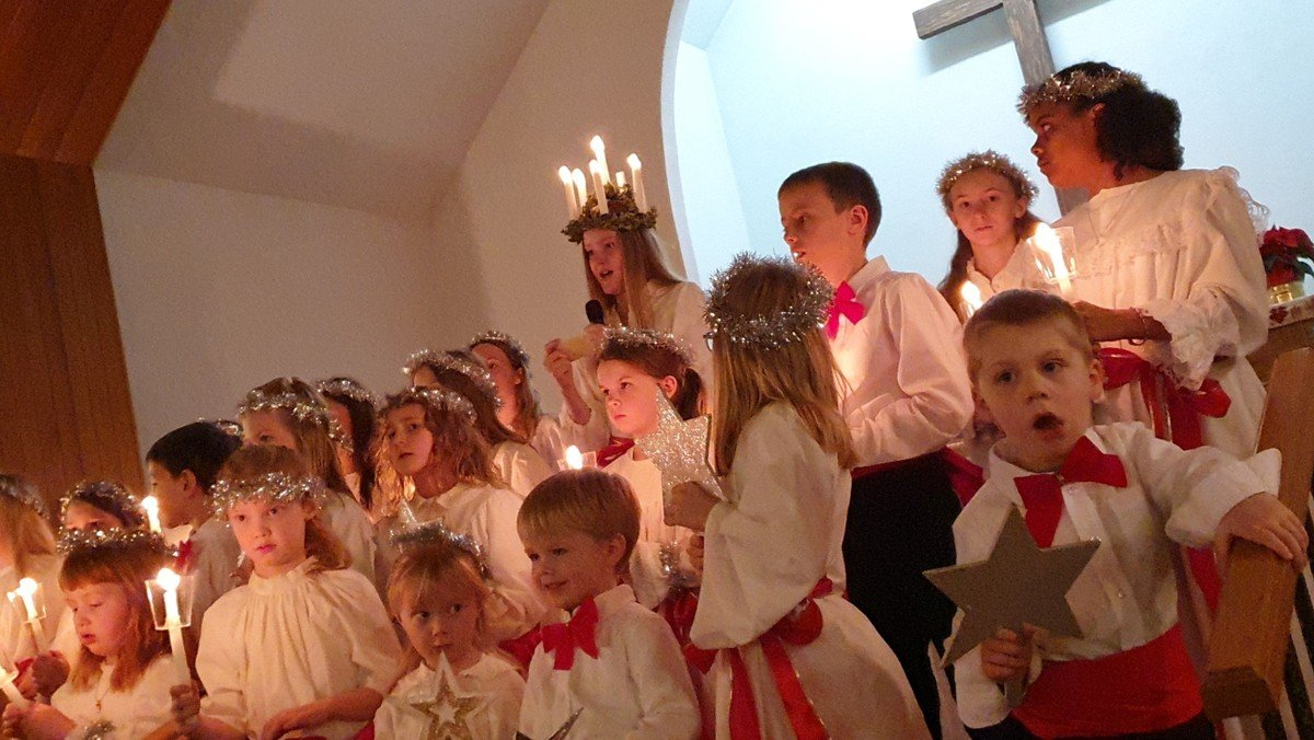 3rd Sunday in advent - with Lucia! Online Video-Worship