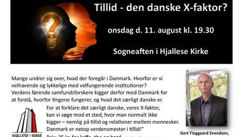 Sogneaften - Tillid - den danske X-faktor