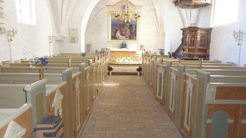 Gudstjeneste i Bårse Kirke Allerhelgen