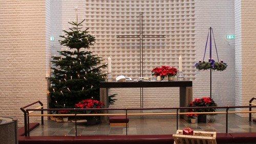 Julegudstjeneste ved Søren Nolsøe