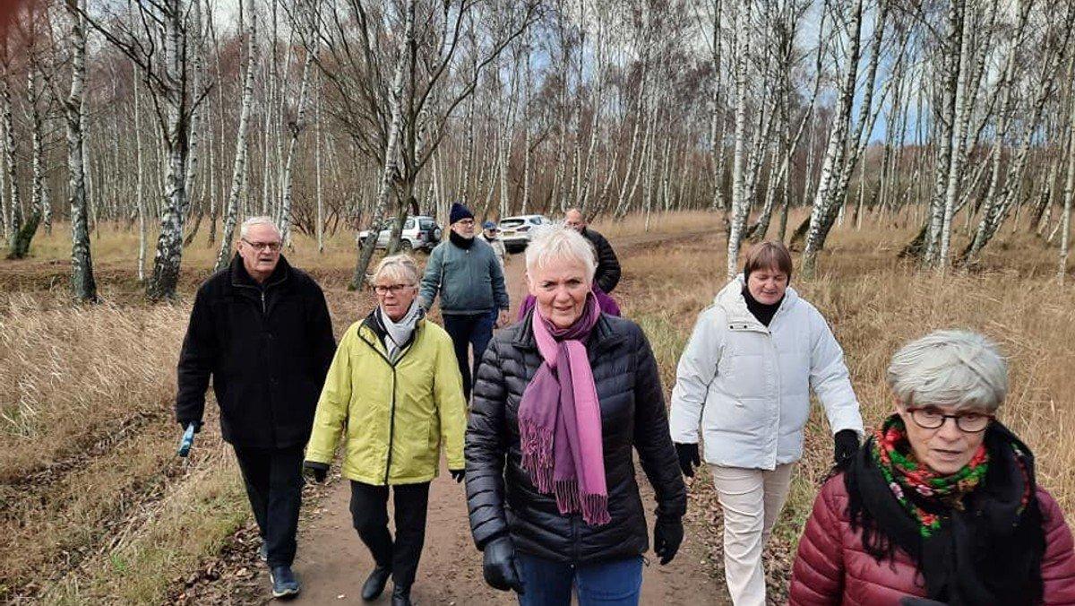 Vandretur på Fælleden, mødested: Hilversumvej-broen