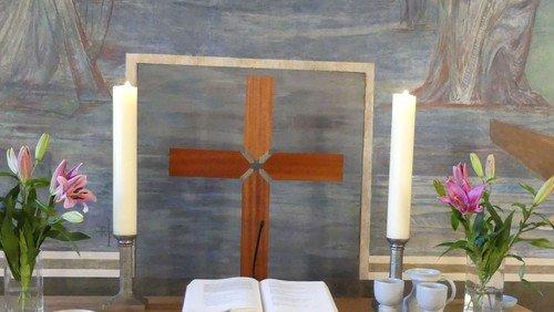 Gottesdienst in Konradshöhe