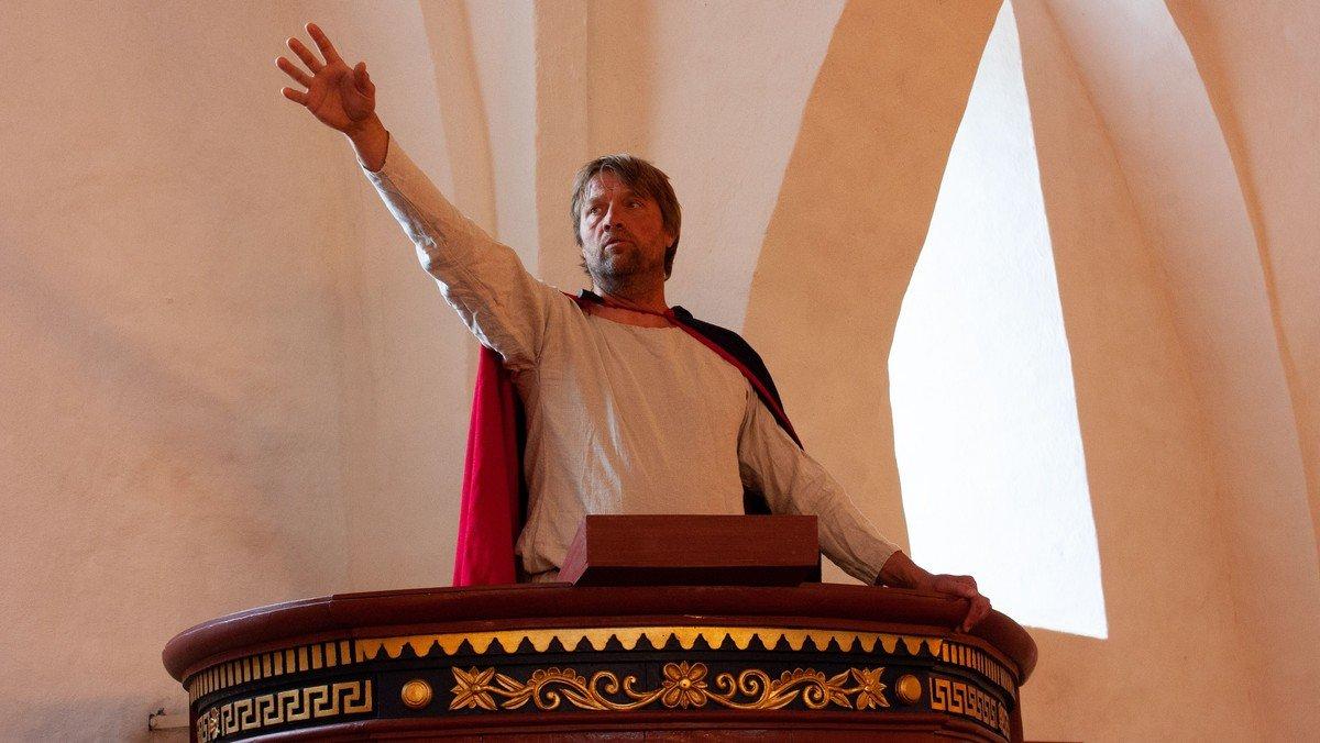 Skærtorsdag - Gudstjeneste med påsketeater i Hadsund kirke - MED TILMELDING
