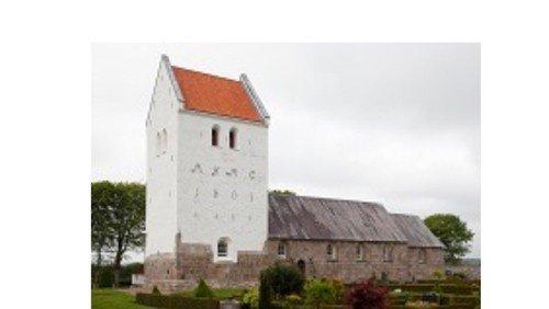 Gudstjeneste i Kettrup Kirke - Afslutning med juniorkonfirmander
