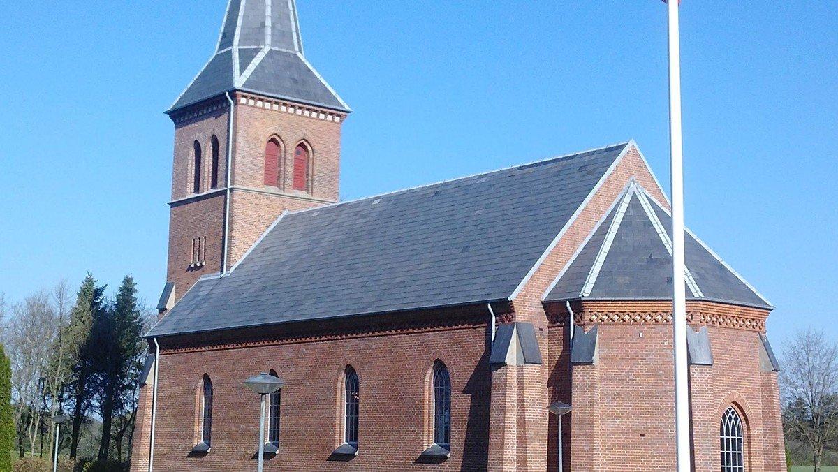 Gudstjeneste i Brande Kirke