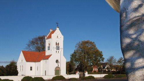 Gudstjeneste i Fjerritslev Kirke - Afslutning med minikonfirmander