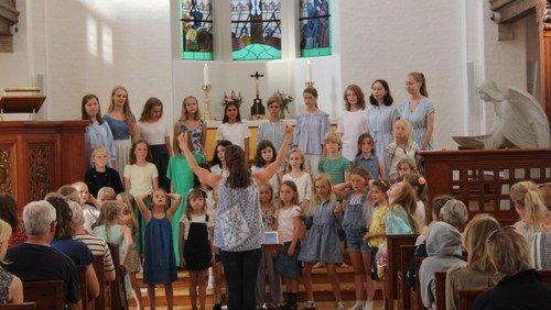 Korskolens sommerkoncert